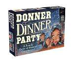 Cover of Donner Dinner Party: A Rowdy Game of Frontier Cannibalism!