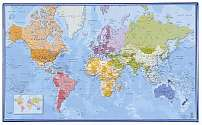 Cover of Desk Mat World Map