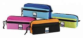 Cover of Pencil Case Triple Zip Teknik Assorted Colours