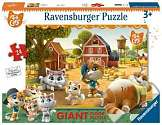 Cover of 44 Cats Giant Floor Puzzle 24 piece puzzle