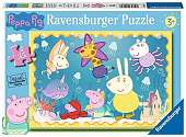 Cover of Peppa Pig Underwater Adventure 35 piece Puzzle