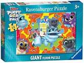 Cover of Puppy Dog Pals Shaped Giant Floor Puzzle, 24pc