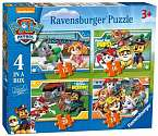 Cover of Paw Patrol 4 in a Box