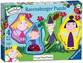 Cover of Ben & Holly Four Large Shaped Puzzles