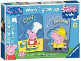 Cover of My First Puzzles Peppa Pig 6*2 piece puzzle