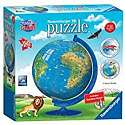 Cover of Children's World Map 3D Puzzle®, 180pc