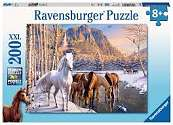 Cover of Winter Horses XXL 200 piece Puzzle