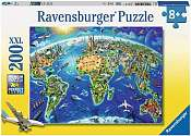 Cover of World Landmarks Map XXL 200pc