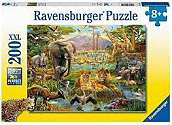 Cover of Animals of the Savanna XXL 200 piece Puzzle