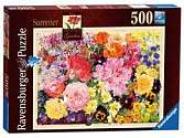 Cover of The Cottage Garden, Summer, 500pc Puzzle