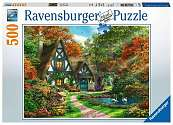 Cover of Cottage Hideaway 500 piece puzzle