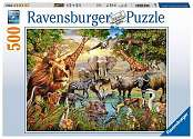 Cover of Animals at the Waterhole, 500pc