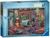 Cover of The Weaver's Workshop 1000 piece puzzle