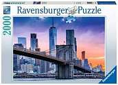Cover of Skyline New York 2000 piece Puzzle