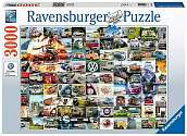 Cover of 99 VW Campervan Moments 3000 piece Puzzle