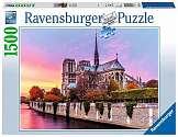 Cover of Picturesque Notre Dame 1500 piece puzzle