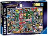 Cover of Colin Thompson Awesome Alphabet E, 1000 Piece Puzzle