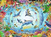 Cover of Cave Dive 500 piece Puzzle