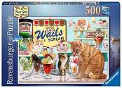 Cover of The Cat that got the Cream, 500pc