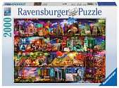 Cover of Travel Shelves 2000 Piece Puzzle