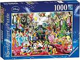 Cover of Disney Christmas 1000 piece puzzle