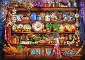 Cover of Mum's Kitchen Dresser 1000pc