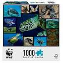 Cover of WWF 1000 Piece Puzzle - Marine Turtles
