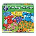 Cover of One Dog, Ten Frogs
