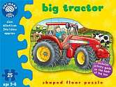Cover of Big Tractor Floor Puzzle