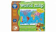 Cover of World Map & Poster 150 Piece Puzzle