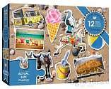 Cover of The Seaside 12 Piece XXL Puzzle