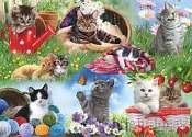Cover of Cats 12 Piece XXL Puzzle