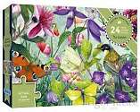 Cover of The Garden 24 Piece XXL Puzzle