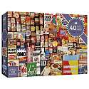 Cover of Shopping Basket 40 Piece XXL Puzzle