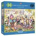 Cover of Mad Catters Tea Party 250 Piece XL Puzzle