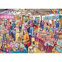 Cover of Village Tombola 500 Piece XL Puzzle