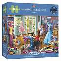 Cover of Dressmaker's Daughter 500 Piece XL Puzzle