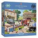 Cover of Life on the Farm 1000 Piece Puzzle