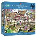 Cover of Daffodils & Ducklings 1000 piece puzzle