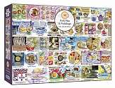 Cover of Pork Pies & Puddings 1000 Piece Puzzle