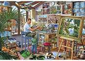 Cover of A Work of Art 2000 Piece Puzzle