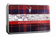 Cover of Gentlemen's Five Piece Grooming Kit - Tartan Stag