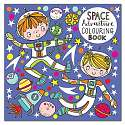Cover of Adventures in Space Colouring Book