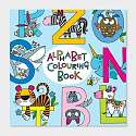 Cover of Alphabet Colouring Book