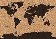Cover of World Map Cork Board