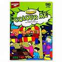 Cover of World of Colour Alphabet Fun 96 page Colouring Book