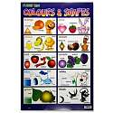 Cover of Colour & Shapes Clever Kidz Wall Chart