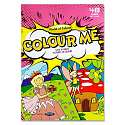 Cover of World of Wonder Colour Me 48 page Colouring Book