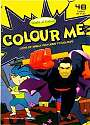 Cover of World of Colour 48 page Colouring Book