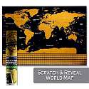 Cover of Universal Scratch Off World Map